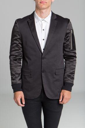 Saco-Grey-Negro