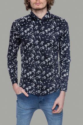 Camisa-Ajul-Negro