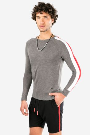 Sweater-Desax-Melange-Oscuro-
