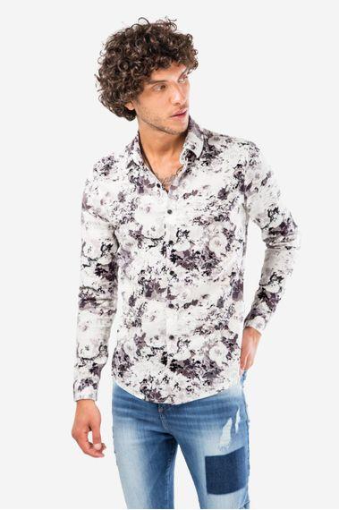 Camisa-Arosel-Gris-
