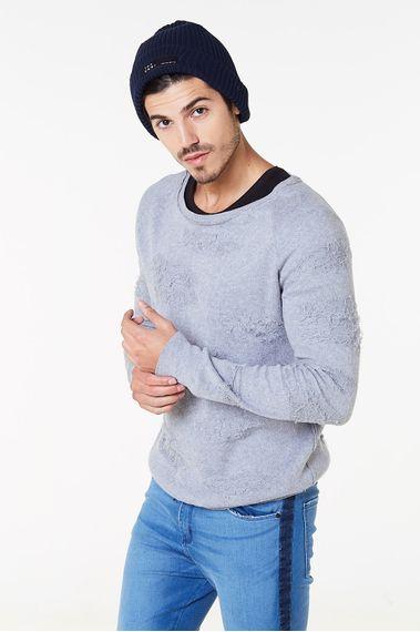 Sweater-Dotur-Melange-