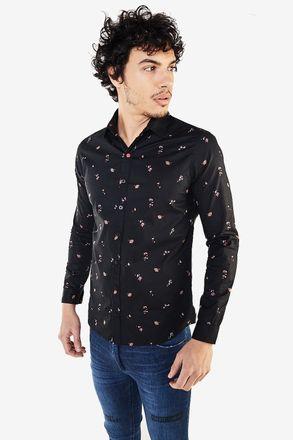 Camisa-Azol-Negro
