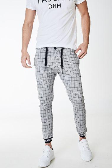 Pantalon-Poly-Gris