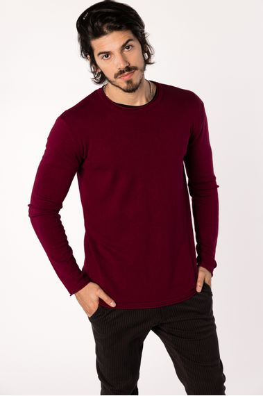 Sweater-Daxico-Bordo