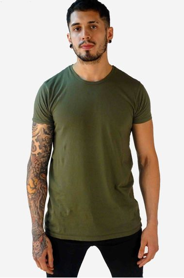 Remera-Barca-Verde-Militar