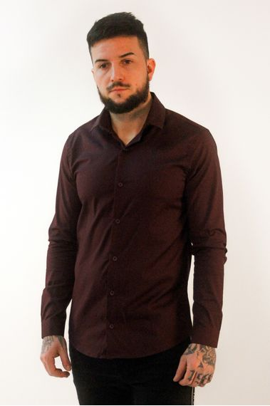 Camisa-Arigi-Plus-Bordo